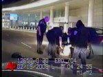 Raw Video: Bizarre Police Chase Ends at Airport