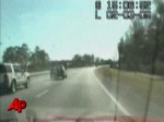 Raw Video: Fla. Police Chase Ends in Crash