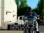 Motorcycle Skills Tests #5-Slow Ride & Circle Ride Captioned