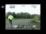 Raw Video: Dramatic crash caught on UK dashcam