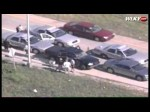 Raw Aerials: Police Chase Ends