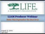 Life Insurance Awareness Month 2010 Producer Webinar