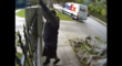 Special Delivery Caught on Tape: FedEx Driver Casually Lobs Fragile Package Over Gate