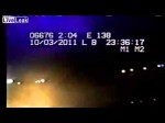 Troopers Car Catches Fire and Loses Control