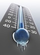 Damn, That's Cold: Local City Sets Low Temp Record at Chilly 13 Degrees