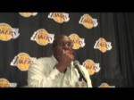 Lakers Coach Mike Brown on Metta World Peace