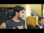 Lakers forward Pau Gasol on trade speculation