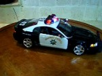 1/18 California Highway Patrol FORD Mustang High Speed Pursuit Unit with Lights