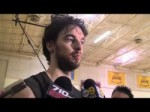 Lakers forward Pau Gasol on three-game losing streak