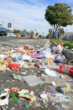 Who Left Behind More Trash: Occupy Los Angeles or the Rose Parade?