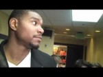 Lakers center Andrew Bynum on 97-92 win over Cleveland Cavaliers