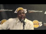 Lakers Coach Mike Brown on Kobe Bryant's performance
