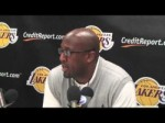 Lakers Coach Mike Brown on Lamar Odom