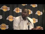 Lakers Coach Mike Brown on Matt Barnes and Devin Ebanks