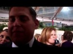 Jonah Hill at the 2012 Golden Globes