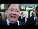 John Lasseter at the Golden Globes