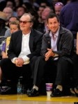 PHOTO: Adam Sandler, Jack Nicholson Catch A Lakers Game