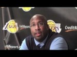 Lakers Coach Mike Brown and Andrew Bynum on Brian Shaw