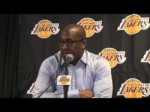 Lakers Coach Mike Brown on Kobe Bryant's performance in Lakers' 108-99 win over Houston Rockets