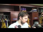 Lakers forward Pau Gasol on Chris Paul