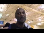 Mavericks forward Lamar Odom on playing the Lakers