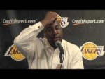 Lakers Coach Mike Brown on Luke Walton