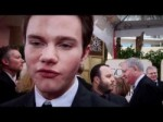Chris Colfer at the 2012 Golden Globes