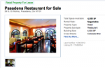 Up For Grabs : Elements Kitchen in Pasadena On The Market