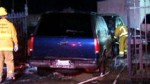 Driver Crashes SUV Into Auto Dealership