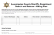 Taking a Hike? Consider Filling Out This Form