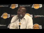 Lakers Coach Mike Brown on 106-73 win over Charlotte Bobcats