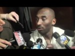 Lakers guard Kobe Bryant on win over Charlotte Bobcats