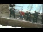Raw aerials: Police chase man in Ohio River