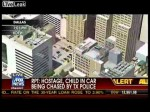 Raw Video – Texas police chase with hostage (4-19-2012)