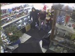 Robbery Suspect Assaulting Elderly Man
