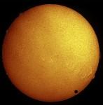 Venus Transit in Hydrogen-Alpha