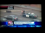 HIGH SPEED Los Angeles Motorcycle CHASE ENDS w/ FACE 2 FACE WITH HIGHWAY PATROL 7/24/2012