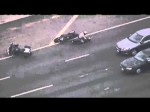 California Highway Patrol High-Speed Chase Motorcyle Pursuit Suspect on Freeway