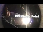 DUI Check Point And The Driver Knows His Rights