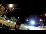 Riding Through Ontario Police Department's DUI Checkpoint on Archibald and Chino 01.11.13