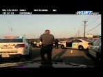 Raw video: Cruiser cam video from Evendale police chase