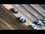 High Speed Police Chase Ends With A Blown Motor (Raw News Video)