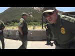 US Border Patrol Break In Driver Window Cam, Pine Valley, California, 31 May 2013
