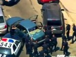 Wild Police Pursuit in Los Angeles