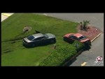 RAW VIDEO: Police chase in Tampa, FL ends in a shootout after suspect goes on a crime spree.