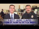 LAPD PSA/non-emergency 877-ASK-LAPD (1-877-275-5273) Spanish