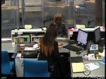 Bank Robbery Suspect Caught on Tape    NR14045bb