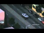 Southern California Police Chase Monster Truck For Hit And Run (Raw News Video)