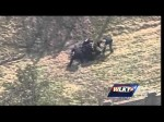 Raw video: Police chase ends in eastern Jefferson County