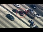 Los Angeles Police Car Chase DRAMATIC MOMENT | 09 June 2014 | RAW VIDEO